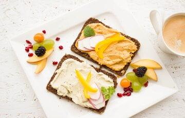 afvallen met gezonde snacks voorbeeld